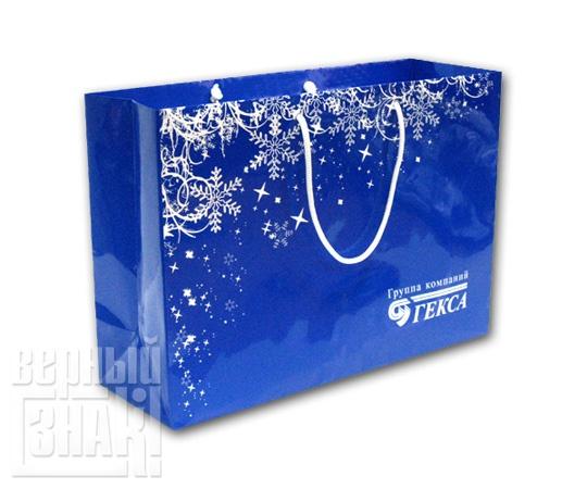 Бумажный пакет «Гекса»
