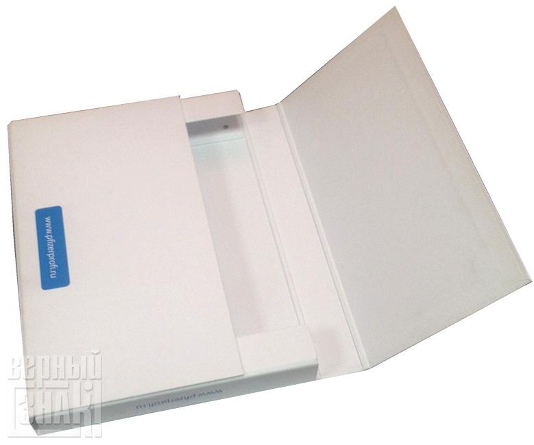 Папка-портфель на магнитах с ручкой