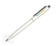 Ручка Senator 2590 (белая) с логотипом 2+0