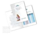 Печать буклетов А4 «Молоко и сливки»