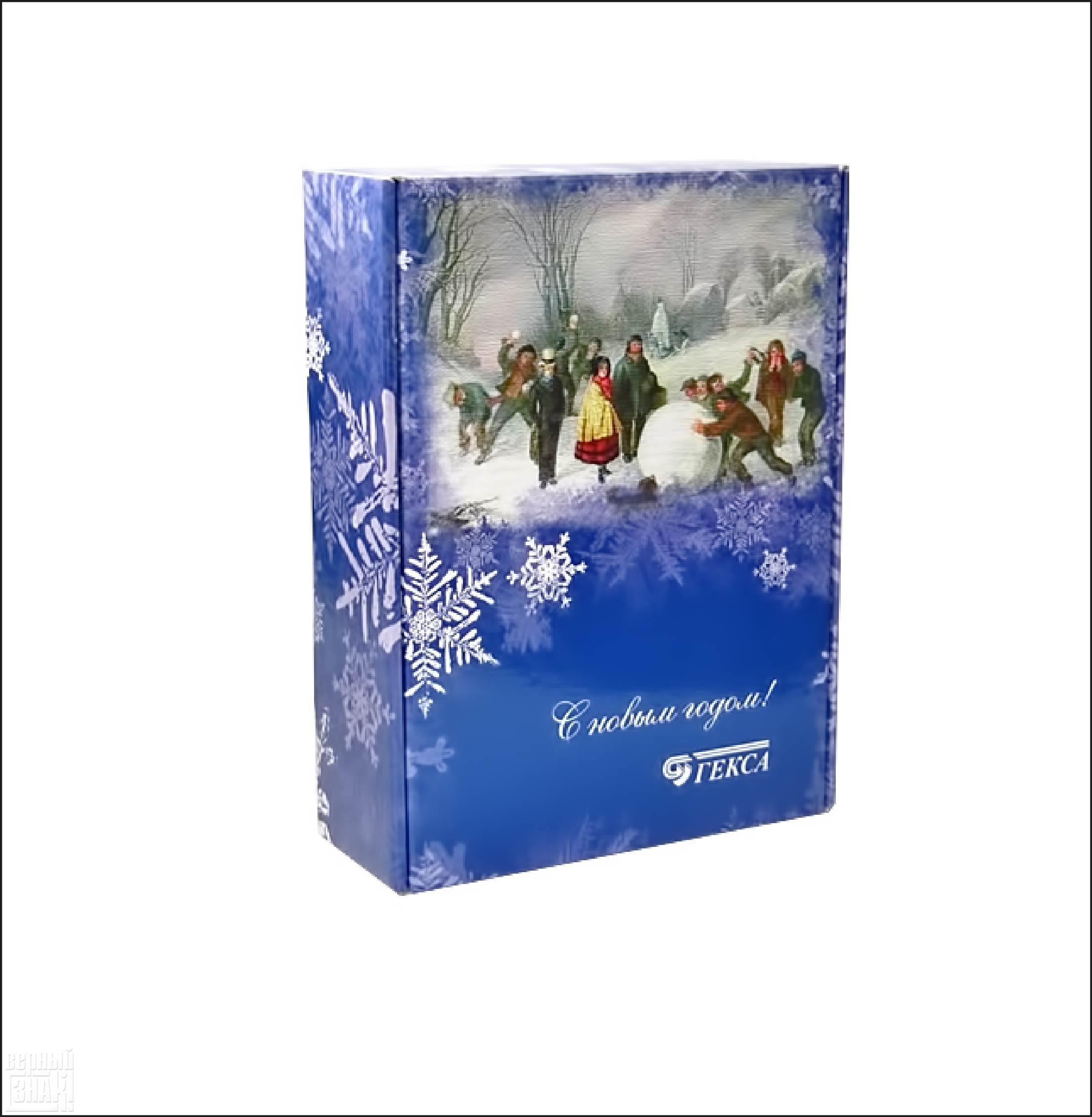 Подарочная упаковка «Гекса»