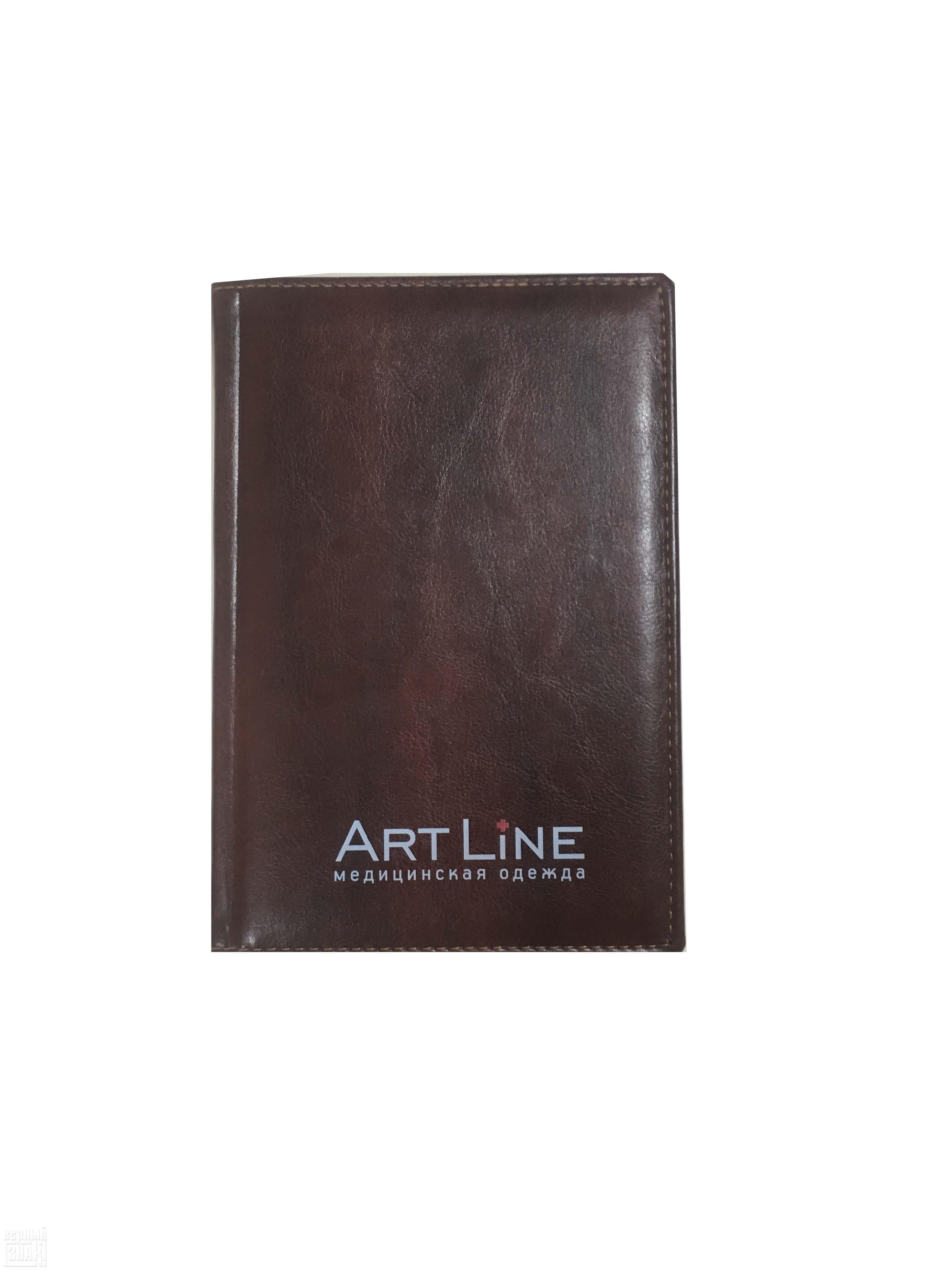 УФ печать на ежедневнике ArtLine