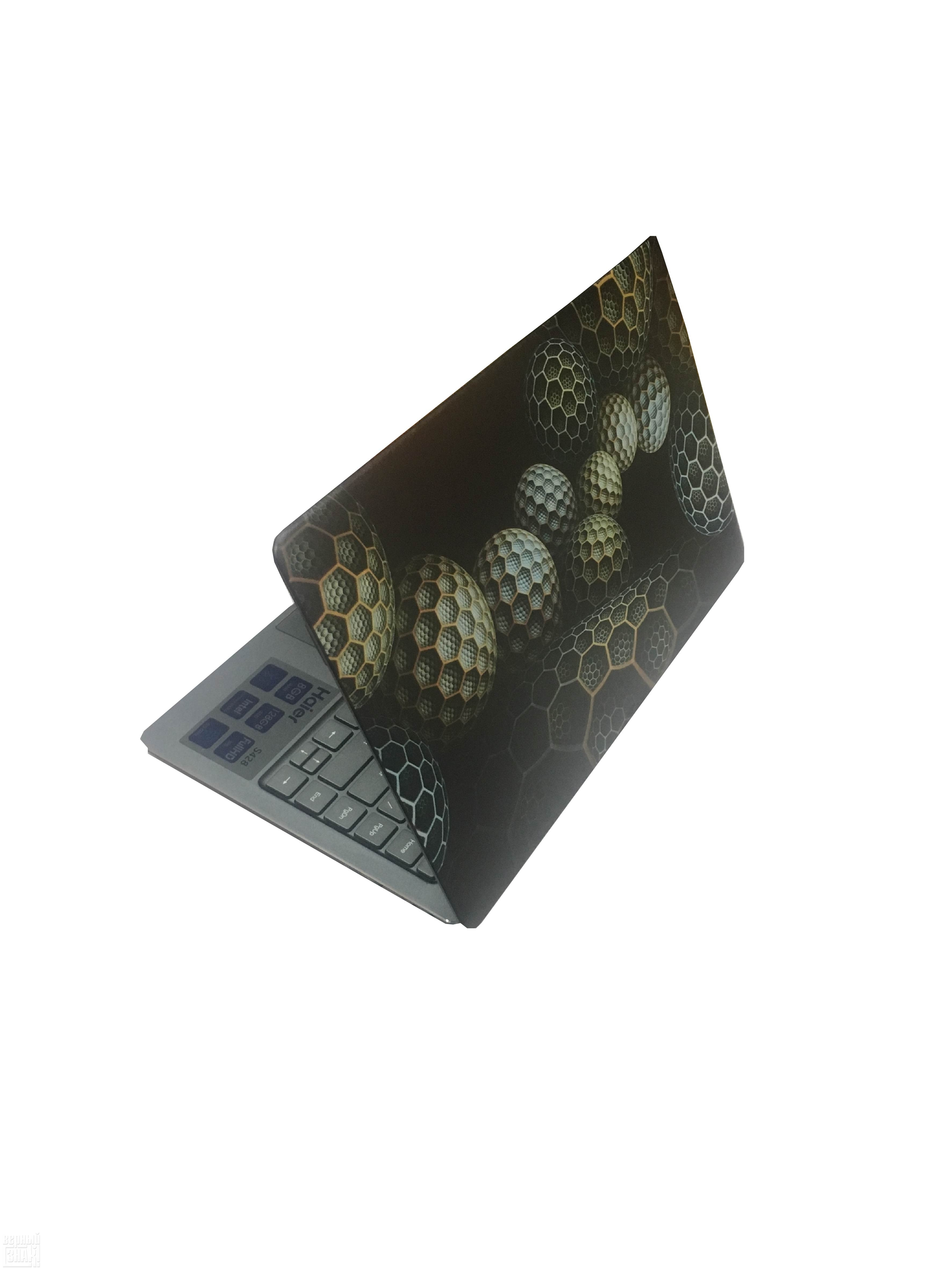 УФ печать на корпусе ноутбука
