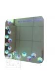 УФ печать на стекле (зеркале) 210 х 210 мм.