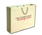 Изготовление бумажного пакета «Русдолгнадзор»