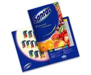 Буклет 210х297 мм «Сантал»